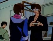 Yasukichi sees Dr. Tofu's love for Kasumi
