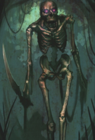 Skeleton Evo 1 art card