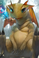 White Dragon Evo 1 art card