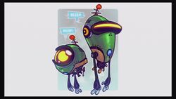 Concept Art - Bleep and Bloop