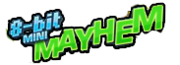 8 bit mini mayhem logo