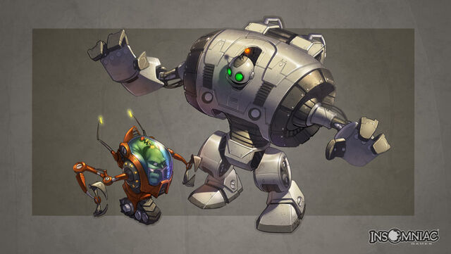 File:Ratchet and Clank All 4 One Clank's RYNO VI Concept Art.JPG