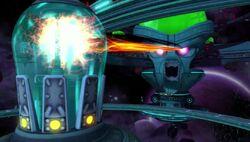 Hypernova Defense Laser