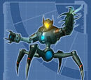 Robot de Seguridad de Megacorp I - Modelo Motosierra v.3.0
