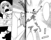 Doryu uses Vampire on Musica