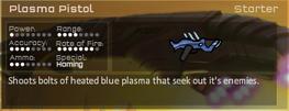 Plasma Pistol Game Stats