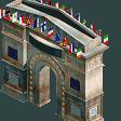 European Park Entrance RCT2 Icon
