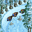 Penguin Bobsleigh RCT2 Icon