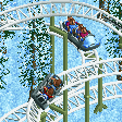 Toboggan Cars RCT2 Icon
