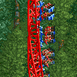 Inverted Impulse Coaster RCT2 Icon