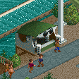 Sunglasses Stall RCT2 Icon