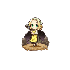 Alma Timiano as a Cook in the mobile game