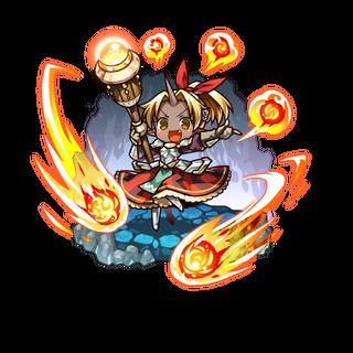 Auro as a Magic Gun User as an Ogre Mixblood in the mobile game