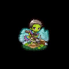 Gobumi as a Hobgoblin in the mobile game