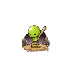 Gobuji in the mobile game