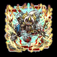 Ovarou (Celebration Demon God) in the mobile game