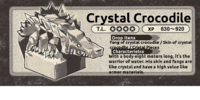 Crystal Crocodile