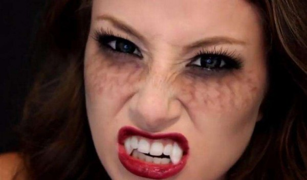 how to look like a real vampire