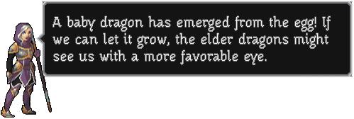 Advisor-dragon hatch-message