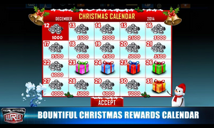 Bountiful Christmas Reward Calendar