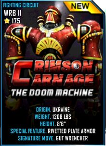 Crimson Carnage Real steel Wiki