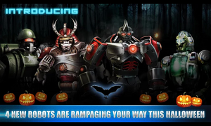 4 New Robots are Rampaging your way this Halloween