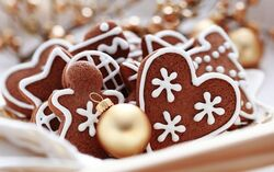 Gingerbread cookies w1