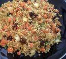 Carrot and Raisin Quinoa
