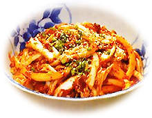 Instant kimchi