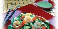 Quick Avocado, Shrimp and Wasabi Salad