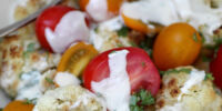 Cauliflower and Cherry Tomato Salad with Basil