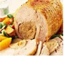 Roast Apricot Turkey with Sweet Kumara