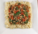 Lime Rice and Black-eyed Peas