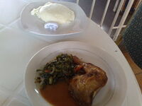 Nshima+chicken+and+something+else-1855