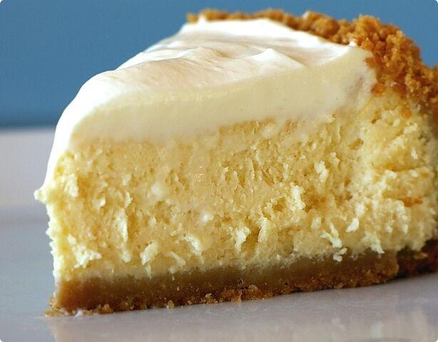 File:Lemon cheesecake slice.jpg