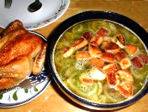 Garlic Onion Soup