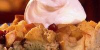 Apple Walnut Bread Pudding