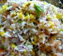 Rice Salad with Sweet Corn