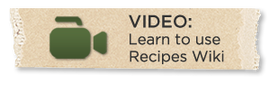 Recipevideo button organic 300x94