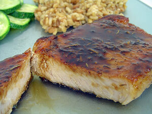 Maple-Glazed Pork Chops-4