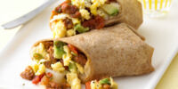 Low-fat Breakfast Burrito