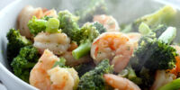 Mandarin Shrimp Stir-fry