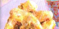 Deep-fried Bananas with Caramel Sauce