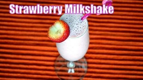 Strawberry Milkshake - Easy and Fresh Milkshake Recipe