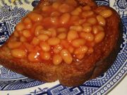 IMG 7241 heinz beans on toast