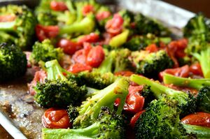Roasted-broccoli-and-tomatoes