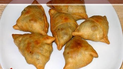 Samosa Recipe Part 2 of 2 by Manjula