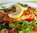Salmon and Green Bean Salad