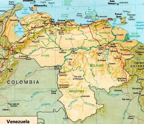 File:Map of Venezuela.jpg