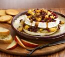 Warm Brie with Baked Apples